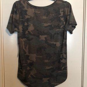 ivoire Tops - Camo T-Shirt